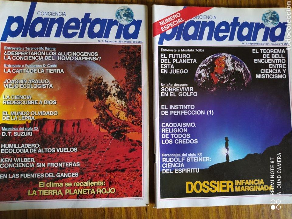 Coleccionismo de Revista Más Allá: Conciencia Planetaria, completa 25 núms. 8 + 17. - Foto 8 - 263026165