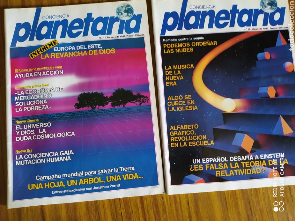Coleccionismo de Revista Más Allá: Conciencia Planetaria, completa 25 núms. 8 + 17. - Foto 11 - 263026165
