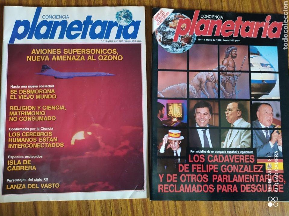 Coleccionismo de Revista Más Allá: Conciencia Planetaria, completa 25 núms. 8 + 17. - Foto 12 - 263026165