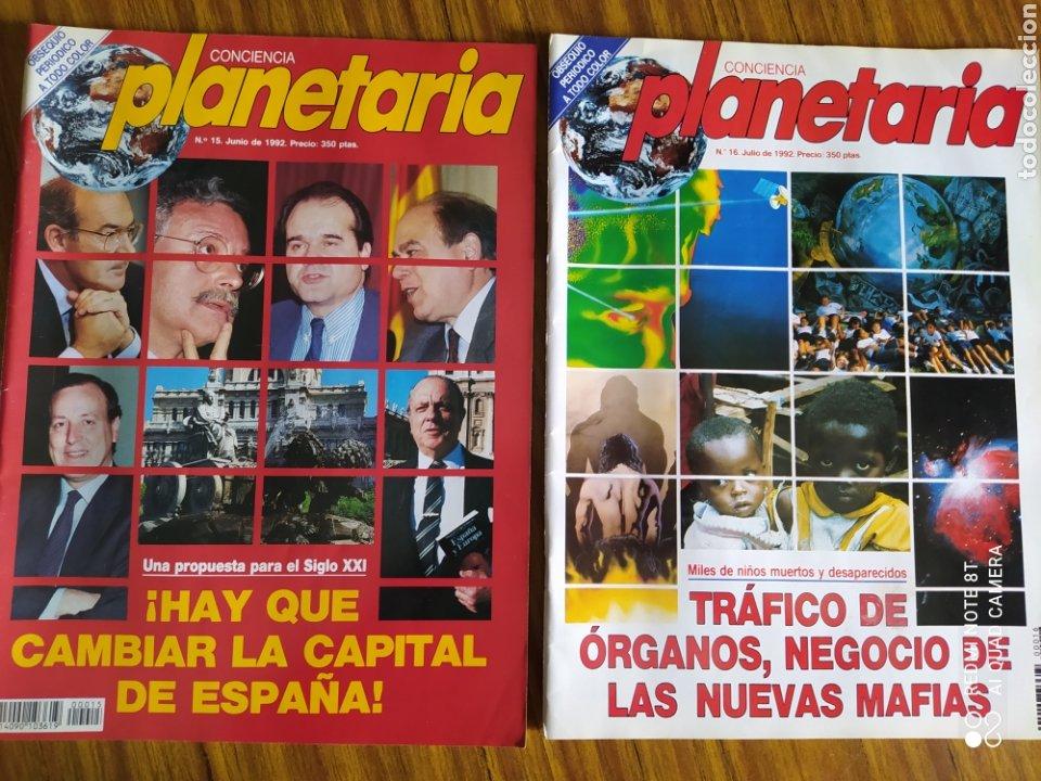 Coleccionismo de Revista Más Allá: Conciencia Planetaria, completa 25 núms. 8 + 17. - Foto 13 - 263026165