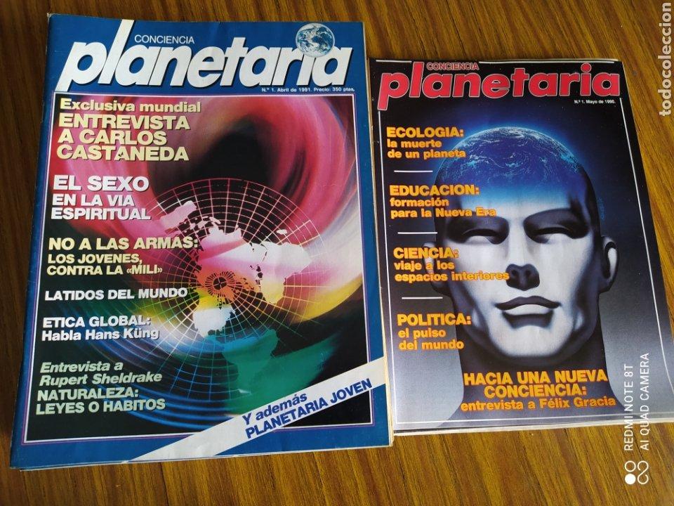 CONCIENCIA PLANETARIA, COMPLETA 25 NÚMS. 8 + 17. (Coleccionismo - Revistas y Periódicos Modernos (a partir de 1.940) - Revista Más Allá)