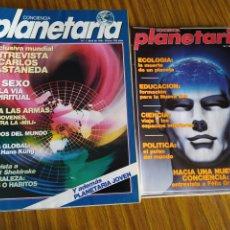 Coleccionismo de Revista Más Allá: CONCIENCIA PLANETARIA, COMPLETA 25 NÚMS. 8 + 17.. Lote 263026165