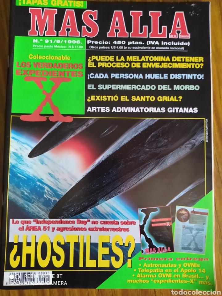 Coleccionismo de Revista Más Allá: Más Allá de la Ciencia, del número 1 al 91. - Foto 2 - 263031545