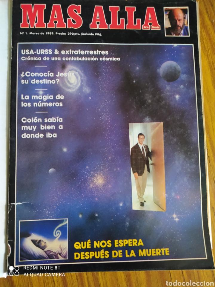 MÁS ALLÁ DE LA CIENCIA, DEL NÚMERO 1 AL 91. (Coleccionismo - Revistas y Periódicos Modernos (a partir de 1.940) - Revista Más Allá)