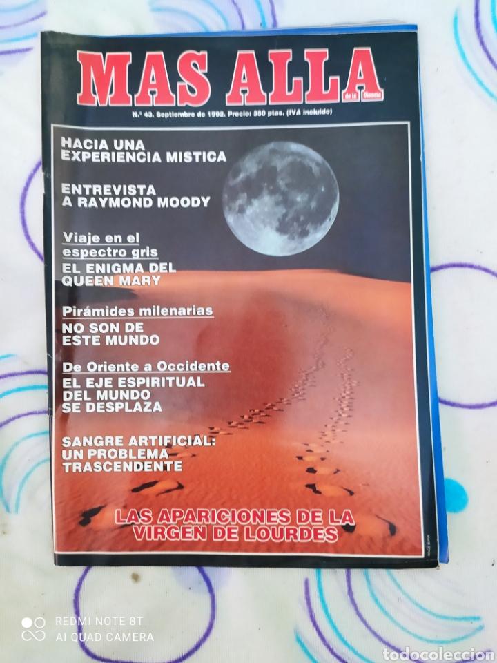 MÁS ALLÁ. REVISTA N°43. SEPTIEMBRE 1992. (Coleccionismo - Revistas y Periódicos Modernos (a partir de 1.940) - Revista Más Allá)