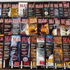 Coleccionismo de Revista Más Allá: LOTE 40 NUMEROS REVISTA 'MAS ALLA' - NUEVAS A ESTRENAR. Lote 265762389