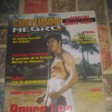 Coleccionismo de Revista Más Allá: CINTURON NEGRO Nº208 ESPECIAL KANAZAWA SANDA BRUCE LEE. Lote 267467559