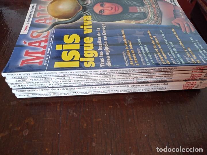 LOTE REVISTAS DE MAS ALLA, DIFERENTES AÑOS , BUEN ESTADO. USADAS, (Coleccionismo - Revistas y Periódicos Modernos (a partir de 1.940) - Revista Más Allá)