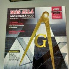 Collectionnisme de Magazine Más Allá: X REVISTA MAS ALLA MONOGRAFICO Nº 58 AÑO XXI MASONES. Lote 286271593