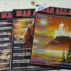 Coleccionismo de Revista Más Allá: LOTE DE 3 REVISTAS MAS ALLA NUMEROS 17,18Y 21. Lote 287749333