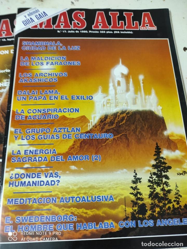 Coleccionismo de Revista Más Allá: lote de 3 revistas mas alla numeros 17,18y 21 - Foto 2 - 287749333