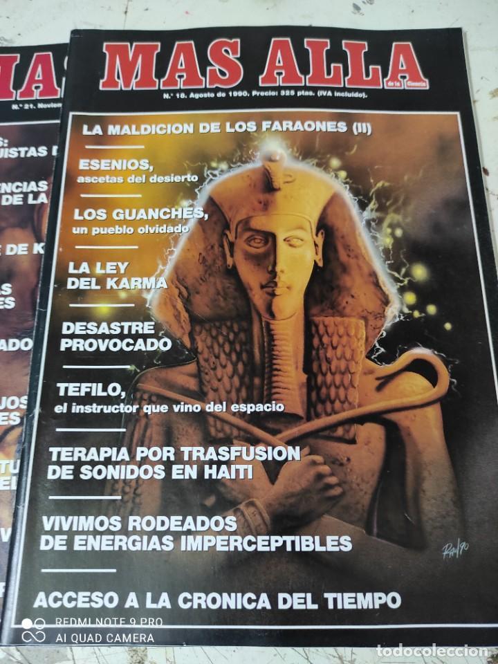 Coleccionismo de Revista Más Allá: lote de 3 revistas mas alla numeros 17,18y 21 - Foto 3 - 287749333