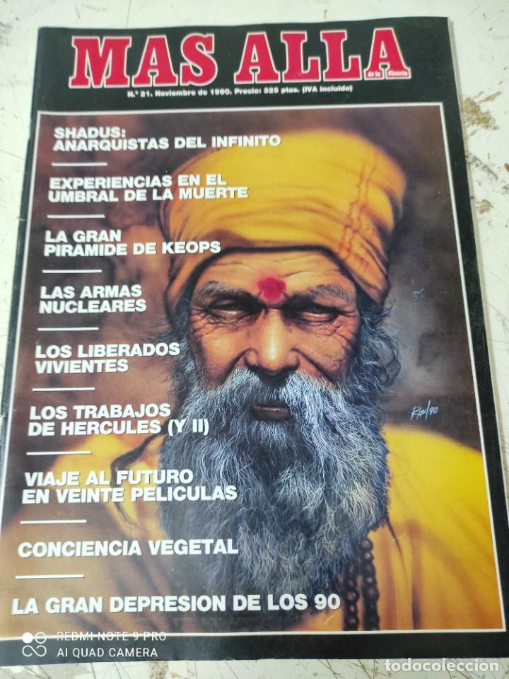 Coleccionismo de Revista Más Allá: lote de 3 revistas mas alla numeros 17,18y 21 - Foto 4 - 287749333