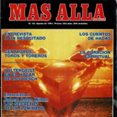 Coleccionismo de Revista Más Allá: MÁS ALLÁ DE LA CIENCIA NO. 30. AGOSTO 1991. POLTERGEIST. FASSMAN. Lote 287954278