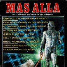 Coleccionismo de Revista Más Allá: MÁS ALLÁ DE LA CIENCIA NO. 72. FEBRERO 1995. GASPARETTO. KALACHAKRA. Lote 288229153