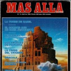Coleccionismo de Revista Más Allá: MÁS ALLÁ DE LA CIENCIA NO. 14. ABRIL 1990. PACHITA. GURDJIEFF. ANGELES DE PAIPORTA. Lote 288610353