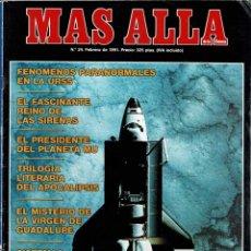 Coleccionismo de Revista Más Allá: MÁS ALLÁ DE LA CIENCIA NO. 24. FEBRERO 1991. FENÓMENOS PARANORMALES EN LA URSS. Lote 289664658
