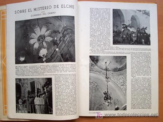 Coleccionismo de Revista Muy Interesante: FESTA D´ELIG - ELCHE (ALICANTE) - AGOSTO 1949 - 62 PÁGINAS + PORTADAS - Foto 3 - 27124419