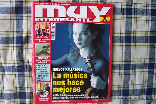 MUY INTERESANTE Nº 275 ABRIL 2004 (Coleccionismo - Revistas y Periódicos Modernos (a partir de 1.940) - Revista Muy Interesante)