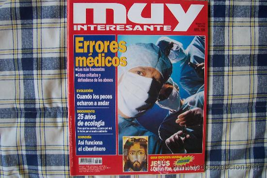 MUY INTERESANTE Nº 179 ABRIL 1996 (Coleccionismo - Revistas y Periódicos Modernos (a partir de 1.940) - Revista Muy Interesante)