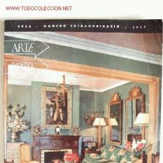 Coleccionismo de Revista Muy Interesante: ARTE HOGAR NÚMERO EXTRORDINARIO 114-115 - EDITORIAL CIGÜEÑA 1954 - 114 PÁGINAS - 23 X 31 CM.. Lote 17559967