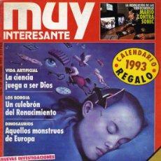 Coleccionismo de Revista Muy Interesante: REVISTA MUY INTERESANTE Nº139 DICIEMBRE 1992. Lote 12055102