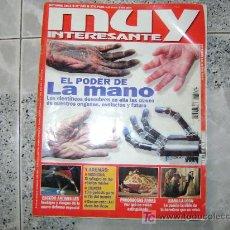 Coleccionismo de Revista Muy Interesante: ESPECIAL AUTOMOVILES, MUY INTERESANTE. Lote 12348749