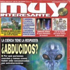 Coleccionismo de Revista Muy Interesante: REVISTA MUY INTERESANTE. ¿ABDUCIDOS?. Nº298. MARZO 2005. Lote 13843754