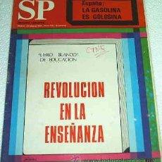 Coleccionismo de Revista Muy Interesante: REVISTA SP EDICION EUROPEA - FEBRERO 1969 -- MUY INTERESANTE -- REVOLUCION CON EL LIBRO BLANCO. Lote 14311198