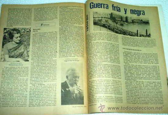 Coleccionismo de Revista Muy Interesante: REVISTA SP EDICION EUROPEA - FEBRERO 1969 -- MUY INTERESANTE -- REVOLUCION CON EL LIBRO BLANCO - Foto 2 - 14311198