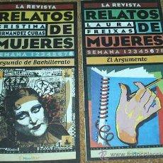 Coleccionismo de Revista Muy Interesante: LA REVISTA - RELATOS DE MUJERES - NUMEROS 6 Y 8 - - MUY INTERESANTE- VER ENVIOS. Lote 23324715