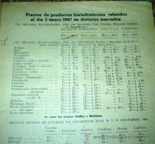 Coleccionismo de Revista Muy Interesante: CAMPO - REVISTA AGROPECUARIA - SUPL.SEMANAL DE PRECIOS - LOTE DE 44 Nos. de 1967-LEER TODO - Foto 2 - 24531358