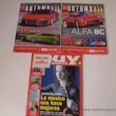 Coleccionismo de Revista Muy Interesante: LOTE 3 REVISTAS . Lote 20093794