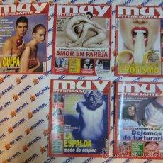 Coleccionismo de Revista Muy Interesante: 5 REVISTAS MUY INTERESANTE. Lote 20300209