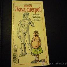 Coleccionismo de Revista Muy Interesante: LIBRILLO OBSEQUIO DE LA REVISTA MUY INTERESANTE.1999.VAYA CUERPO.. Lote 20873735