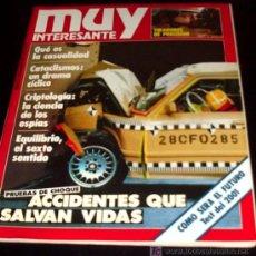Coleccionismo de Revista Muy Interesante: MUY INTERESANTE - Nº 55 - DICIEMBRE 1985. Lote 24386588