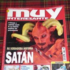 Coleccionismo de Revista Muy Interesante: MUY INTERESANTE Nº 321 FEBRERO 2008 - SATAN - HISTORIA - GIGANTES ACUATICOS . Lote 22559716