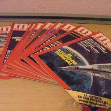 Coleccionismo de Revista Muy Interesante: MUY INTERESANTE - 12 REVISTAS AÑO 1983 COMPLETO. Lote 23896512