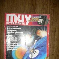 Coleccionismo de Revista Muy Interesante: REVISTA MUY INTERESANTE NÚM. 99 AGOSTO 1989. Lote 27081712