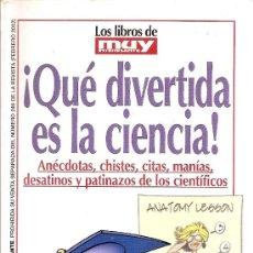 Coleccionismo de Revista Muy Interesante: MUY INTERESANTE ,LIBRO. Lote 26194472