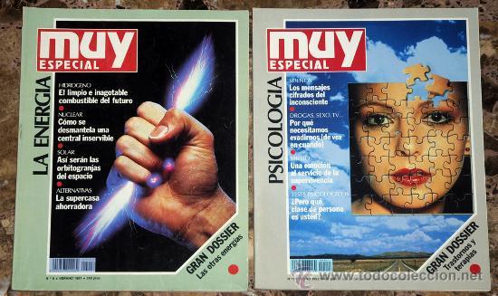 REVISTA MUY INTERESANTE ESPECIAL, VERANO 1991 Y OTOÑO 1992 (Coleccionismo - Revistas y Periódicos Modernos (a partir de 1.940) - Revista Muy Interesante)
