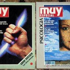 Coleccionismo de Revista Muy Interesante: REVISTA MUY INTERESANTE ESPECIAL, VERANO 1991 Y OTOÑO 1992. Lote 28411627