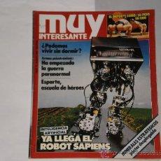 Coleccionismo de Revista Muy Interesante: REVISTA MUY INTERESANTE NUMERO 70 , MARZO DE 1987 . . Lote 29408789