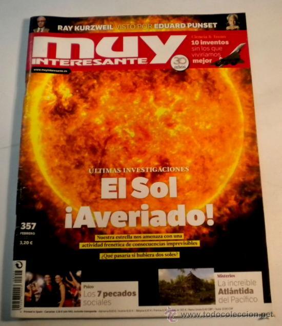 MUY INTERESANTE Nº 357 - FEBRERO 2011 (Coleccionismo - Revistas y Periódicos Modernos (a partir de 1.940) - Revista Muy Interesante)
