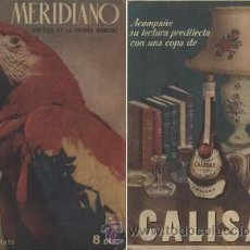Coleccionismo de Revista Muy Interesante: MERIDIANO (FEBRERO DE 1952). Lote 30139752