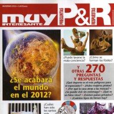 Coleccionismo de Revista Muy Interesante: MUY INTERESANTE PREGUNTAS & RESPUESTAS N. 22 INVIERNO 2012 (NUEVA). Lote 111878928