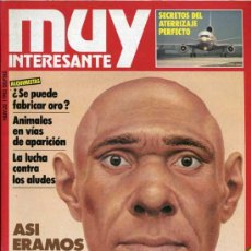 Coleccionismo de Revista Muy Interesante: MUY INTERESANTE 20,21,22,23,24,25,26,27,28,29. Lote 30663987