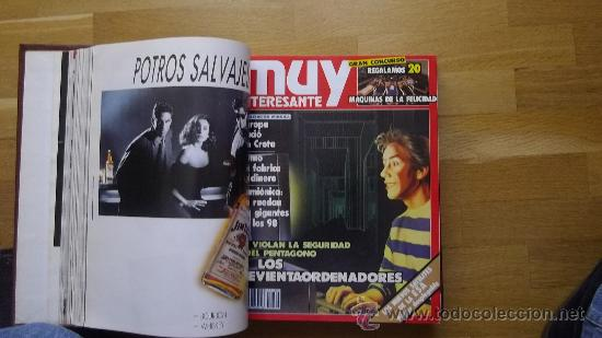Coleccionismo de Revista Muy Interesante: lujosa encuadernacion de la revista muy interesante - Foto 3 - 30798720