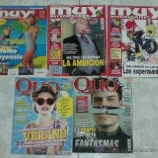 Coleccionismo de Revista Muy Interesante: MUY INTERESANTE 363 304 325 QUO 190 191. Lote 33312878