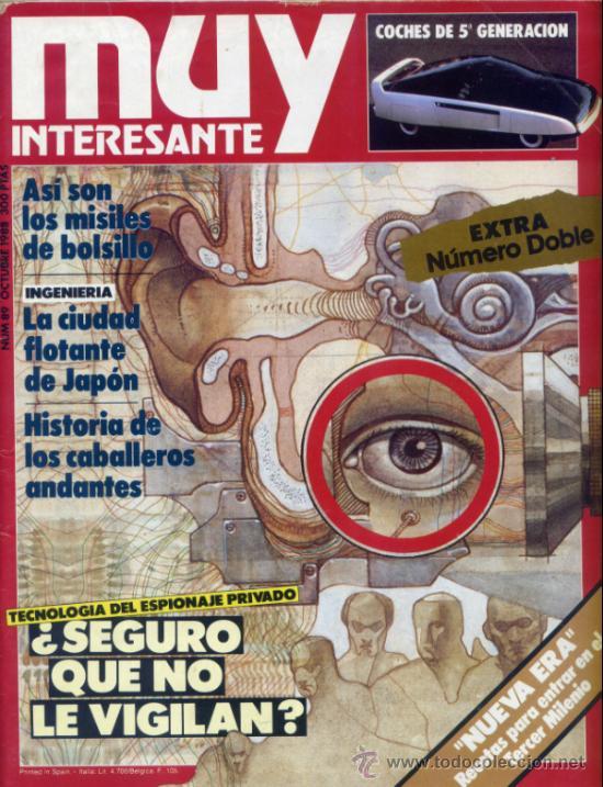 REVISTA MUY INTERESANTE. NUMERO 89 (Coleccionismo - Revistas y Periódicos Modernos (a partir de 1.940) - Revista Muy Interesante)